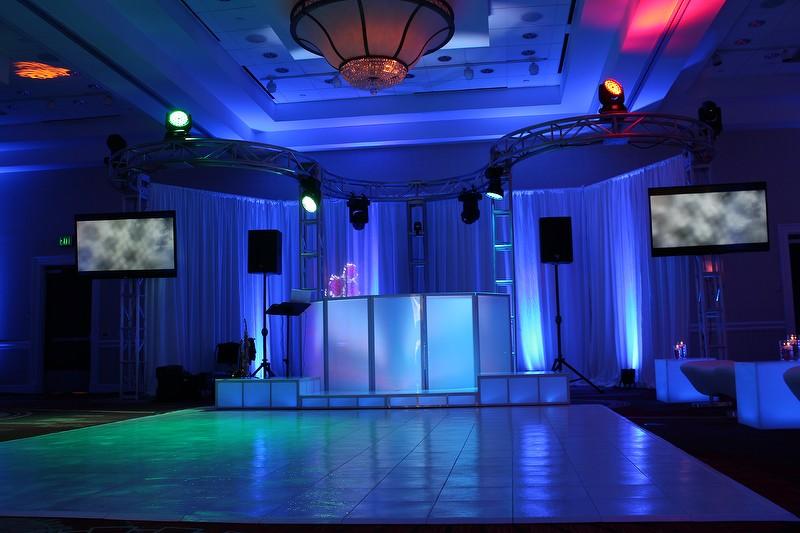 dj dance floor