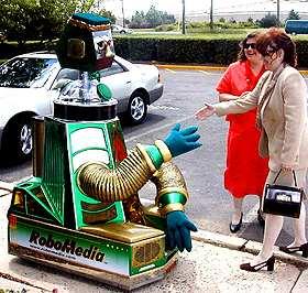 robomedia interactive robot
